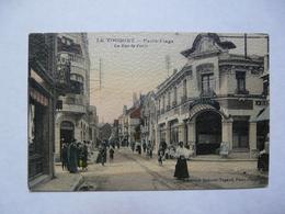 CPA 62 PAS DE CALAIS - LE TOUQUET - Paris Plage : La Rue De Paris - Expositions