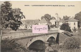 LABERGEMENT Ste MARIE Le Pont - France