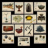 Sierra Leone 2019 Wuhan World Stamp Expo Cultural Relics From Zeng Hou Yi's Tomb Set Of 15 Stamps - Sierra Leone (1961-...)