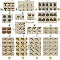 Sierra Leone 2019 Wuhan World Stamp Expo Cultural Relics From Zeng Hou Yi's Tomb Set Of 15 Full Sheets - Sierra Leone (1961-...)