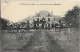 D56 - CAMOEL - CHÂTEAU DE ST LOUIS DES LANDES - Francia