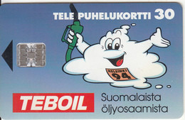FINLAND - Teboil, Tirage 32000, 08/94, Used - Finland