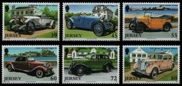 Jersey 2010 - Mi-Nr. 1508-1513 ** - MNH - Autos / Cars - Jersey