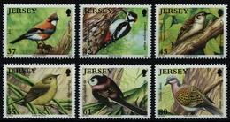 Jersey 2010 - Mi-Nr. 1472-1477 ** - MNH - Vögel / Birds - Jersey