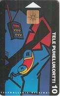 FINLAND - Telegalleria/Helsinki, Tirage 30000, 03/95, Used - Finland