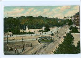 XX005123/ Berlin Landsberger Platz Straßenbahn AK 1908 - Ohne Zuordnung