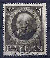 Bayern 109 II A Gest. (Gefälligkeit), Gepr. Helbig - Bayern (Baviera)