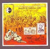 BLOC CNEP 2009 N° 54 **- SALON PHILATELIQUE D'AUTOMNE  BATAILLE DE SOLFERINO 1859 CROIX ROUGE DUNANT - CNEP