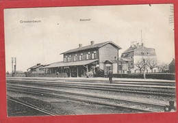 CPA: Allemagne - Grossenbaum - Bahnhof - Duisburg