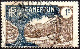 Cameroun Obl. N° 126 - Pont De Lianes 1 F Brun Et Bleu - Oblitérés