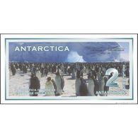 TWN - ANTARCTICA (private Issue) - 2 Dollars 1.3.1996 Prefix J UNC - Banconote
