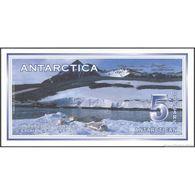 TWN - ANTARCTICA (private Issue) - 5 Dollars 1.3.1996 Specimen K0000 UNC - Banconote