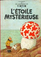 Tintin L'etoile Mysterieuse 1957 B 20 +++BE+++ PORT GRATUIT - Tintin