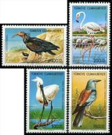 TURKEY 1976 (**) - Mi. 2407-10, Birds - Unused Stamps