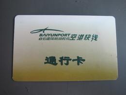 Guangzhou Airport Shuttle Bus Parking Card(entry Terminal) - Télécartes