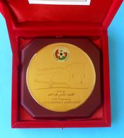 OMAN FOOTBALL ASSOCIATION - Large Official Luxury Plaque In The Original Box * Soccer Federation Fussball Calcio Foot - Apparel, Souvenirs & Other