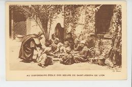 EGYPTE - Mission Des Jésuites Français En Egypte - AU DISPENSAIRE - ÉCOLE DES SOEURS DE SAINT JOSEPH DE LYON - Egypt