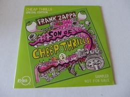 CD/  Frank Zappa - Cheep Thrills - Rock