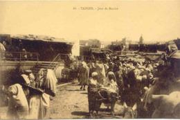 CPA - MAROC - TANGER - JOUR DE MARCHE - Tanger