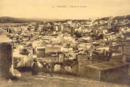 CPA - TANGER - VUE DE LA CASBAH - Tanger