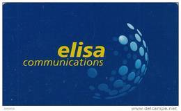 FINLAND(chip) - Elisa Communications, Elisa Telecard, CN : HPY 000170, Tirage 10000, 02/00, Used - Finland