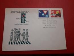 Allemagne DDR Fdc Sécurité Routière - FDC: Enveloppes