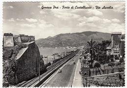 GENOVA PRA' - FORTE DI CASTELLUCCIO - VIA AURELIA - 1962 - Genova (Genoa)