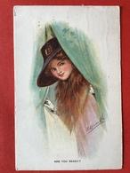 1920 - Illustrateur - ARE YOU READY ? - BEN JE KLAAR ? - DAME MET BONTKRAAG EN HOED - FOURRURE ET CHAPEAU - Autres Illustrateurs
