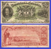 Colombia  50  Peso  1904 - Colombia