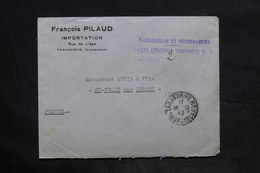 MADAGASCAR - Taxe De Poste Aérienne De Tananarive Sur Enveloppe En 1945 Pour La France - L 34181 - Madagascar (1889-1960)