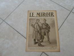 Le Miroir - La Guerre 1914-1918 - Journal N°268 - 12.1.1919 (Titres Sur Photos) La Guerre Sous Marine Dans L'histoire - War 1914-18