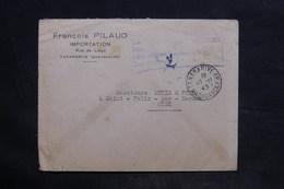 MADAGASCAR - Taxe De Poste Aérienne De Tananarive Sur Enveloppe En 1945 Pour La France - L 34182 - Madagascar (1889-1960)
