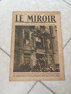 Le Miroir - La Guerre 1914-1918 - Journal N°269 - 19.1.1919 (Titres Sur Photos) Sous Marins Allemands à Cherbourg - War 1914-18