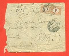 SEGNATASSE -9/11/1915 -DA CINAGLIO PER ASTI - Segnatasse