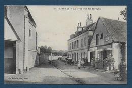 LEVES - Vue Prise Rue De L' Eglise - Lèves