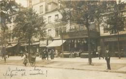 75013 - PARIS - Carte Photo De Commerces Au 18 Avenue D'Italie Dont Peinture Et Vernis Tournel - Arrondissement: 13