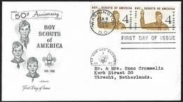 1960 - USA - FDC + Scott 1145 + WASHINGTON - Premiers Jours (FDC)