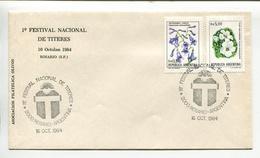 ARGENTINA - 1° FESTIVAL NACIONAL DE TITERES, ROSARIO. YEAR 1984 SPECIAL ENVELOPE OBLITERES SPC - LILHU - Marionetas