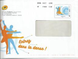 """PAP TSC PHILAPOSTE MonTimbraMoi """" Entrez Dans La Danse - Destineo 250g """" 2017 - Entiers Postaux"""