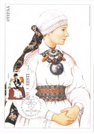 33315. Tarjeta Maxima TALLINN (Estonia) Eesti 2003. Traje Tipico OTEPÄÄ, Women Costume - Estonia