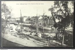 CPA 56 BELLE ILE - Le Bassin à Flot Du Palais - Villard 2464 -  Réf. Y 101 - Belle Ile En Mer