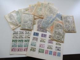 Alter Tütenposten Finnland Ca. 1950/60er Jahre Freimarken! Viele Marken! Gestempelt. Fundgrube!! Ca. 1500 Stk - Sammlungen (ohne Album)