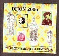 BLOC CNEP 2006 N° 45 **- SALON PHILATELIQUE DE PRINTEMPS DIJON  BLASON PHILIPPE LE BON - CNEP