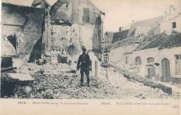 CPA - Belgique - Malines Après Le Bombardement - 1914 - Malines