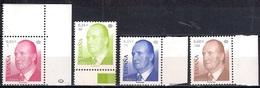 Spain 2001 - King Juan Carlos I - New Values   MINT - 1931-Hoy: 2ª República - ... Juan Carlos I