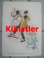 1024 Cucuel Kuchentanz Cakewalk Kunstblatt 1903 !! - Stampe