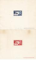 FEZZAN  épreuve Des No Y.T. 52-53 NH - Fezzan (1943-1951)