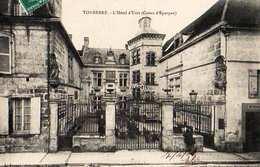 89-TONNERRE L'HÔTEL D'UZES CAISSE D'EPARGNE - Tonnerre