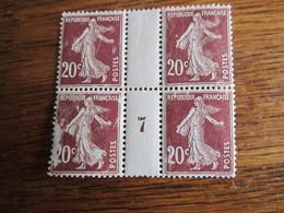 C  68      7 20 CHARNIERES   1.90 - Millesimi