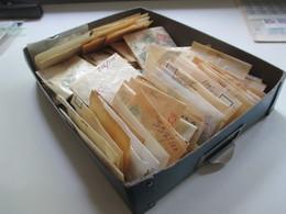 Alter Tütenposten Skandinavien Ca. 1950/60er Jahre Freimarken! Viele Marken! Gestempelt. Fundgrube!! Ca. 8500 Marken - Collections (without Album)